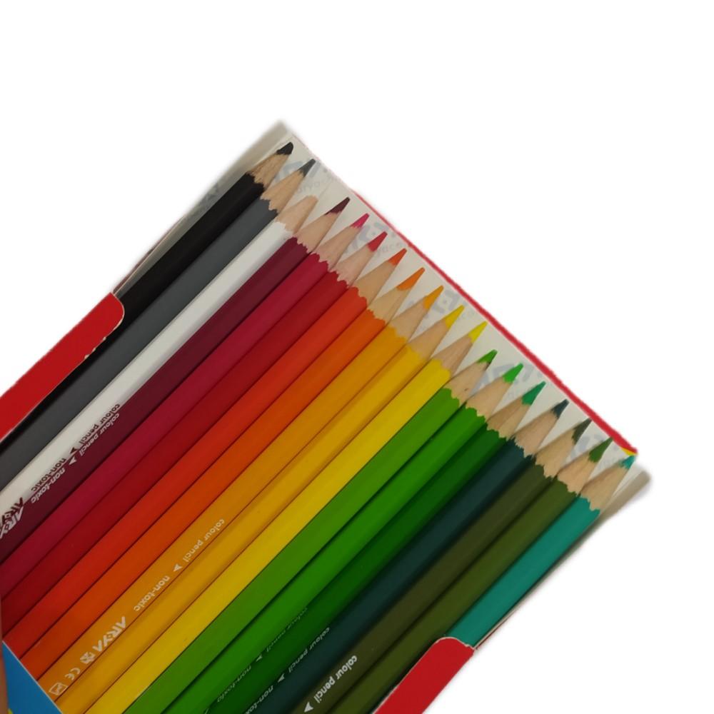 مداد رنگی آریا 36 مقوایی