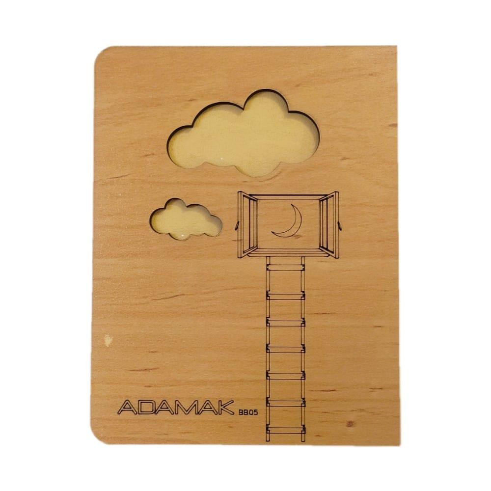 دفترچه یادداشت چوبی