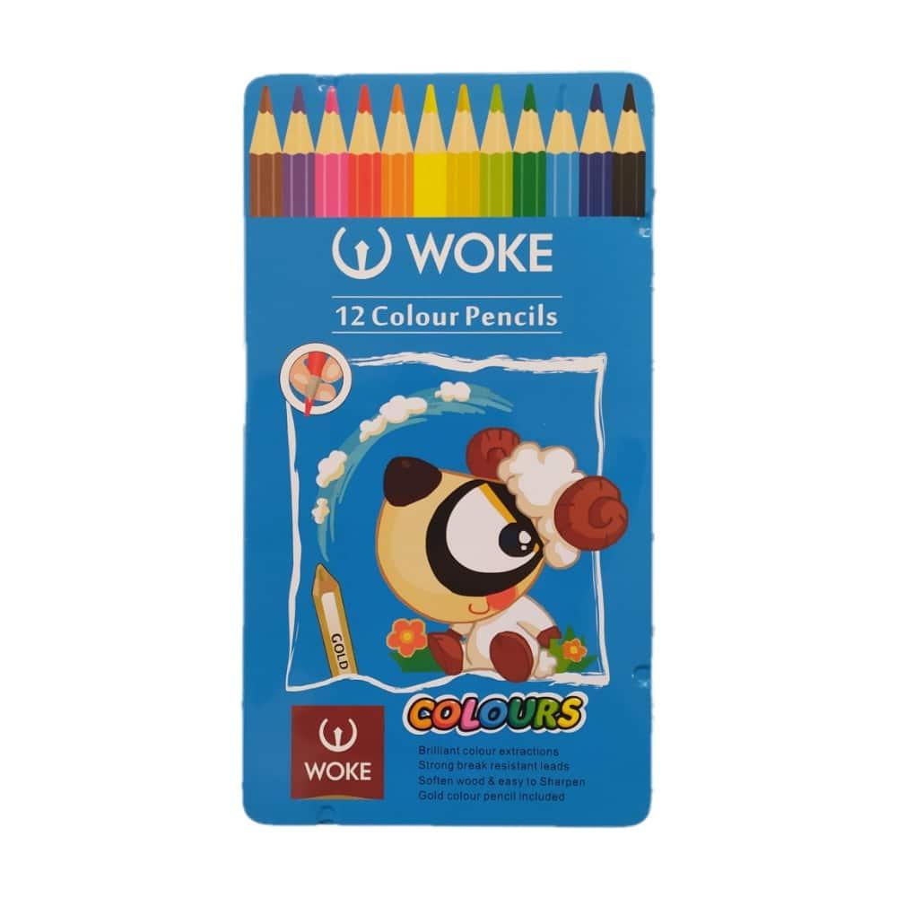 مداد رنگی وک 12