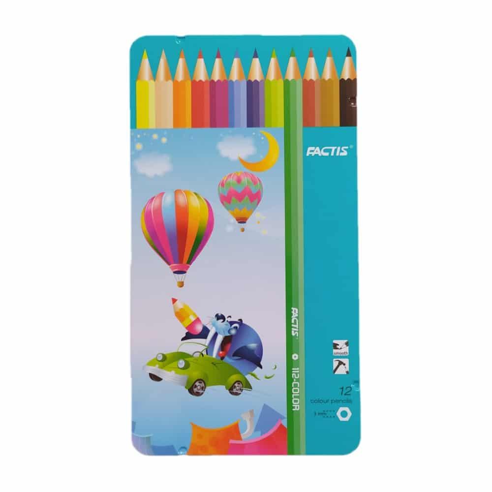 مداد رنگی فکتیس 12