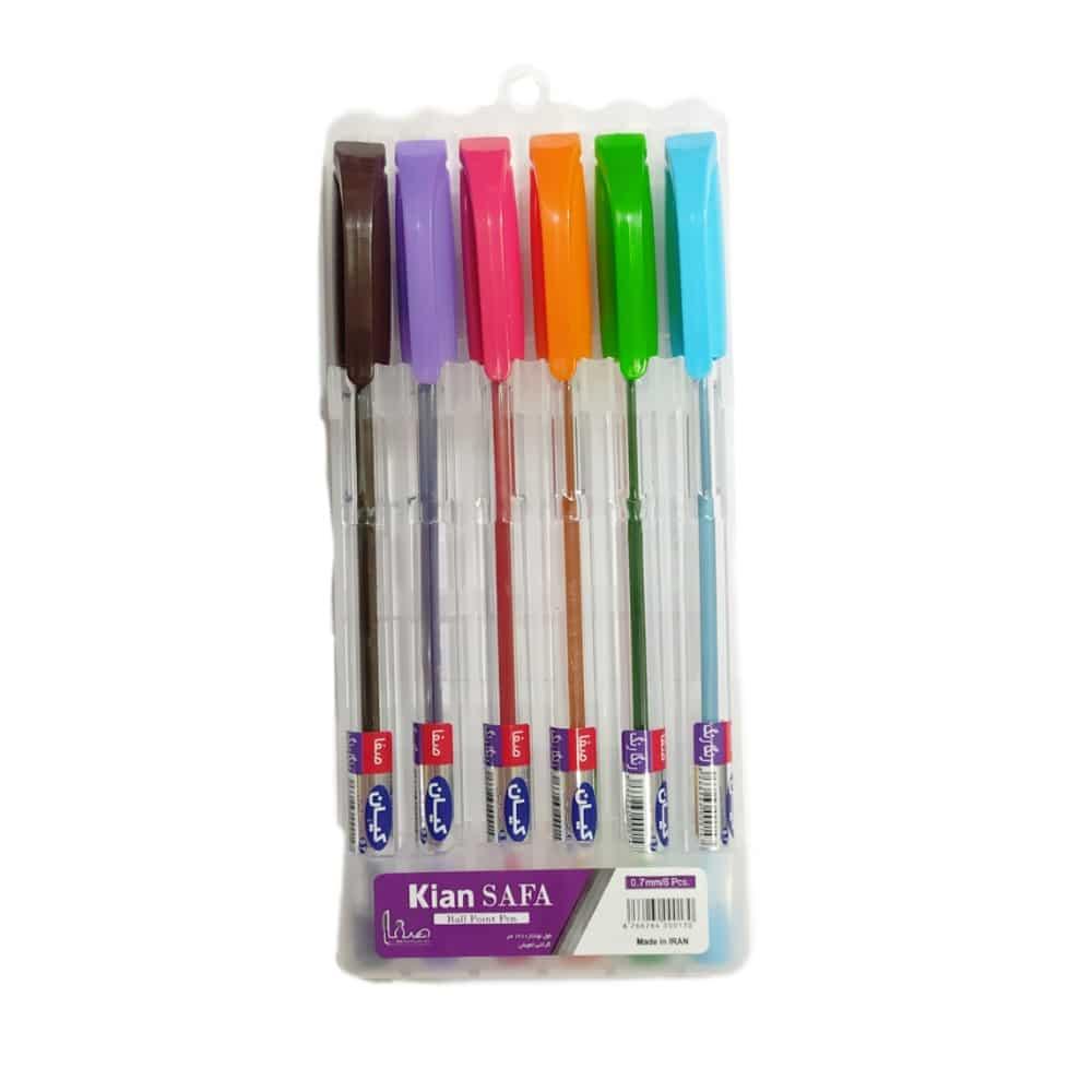 خودکار کیان 6 رنگ