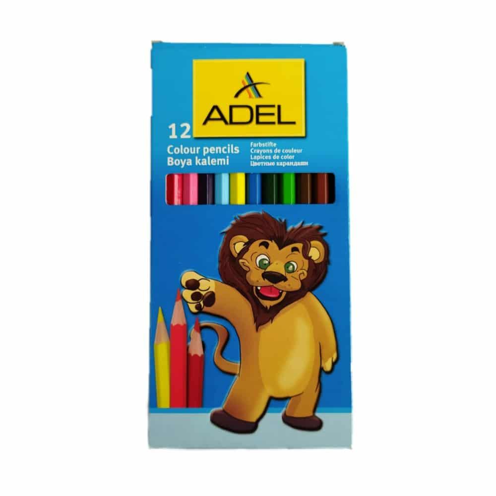 مداد رنگی عادل 12