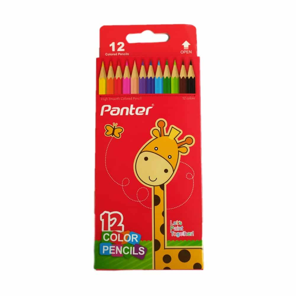 مداد رنگی پنتر 12