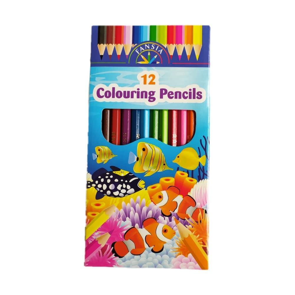 مداد رنگی فنسیا 12