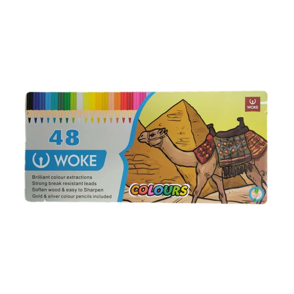 مداد رنگی ووک 48