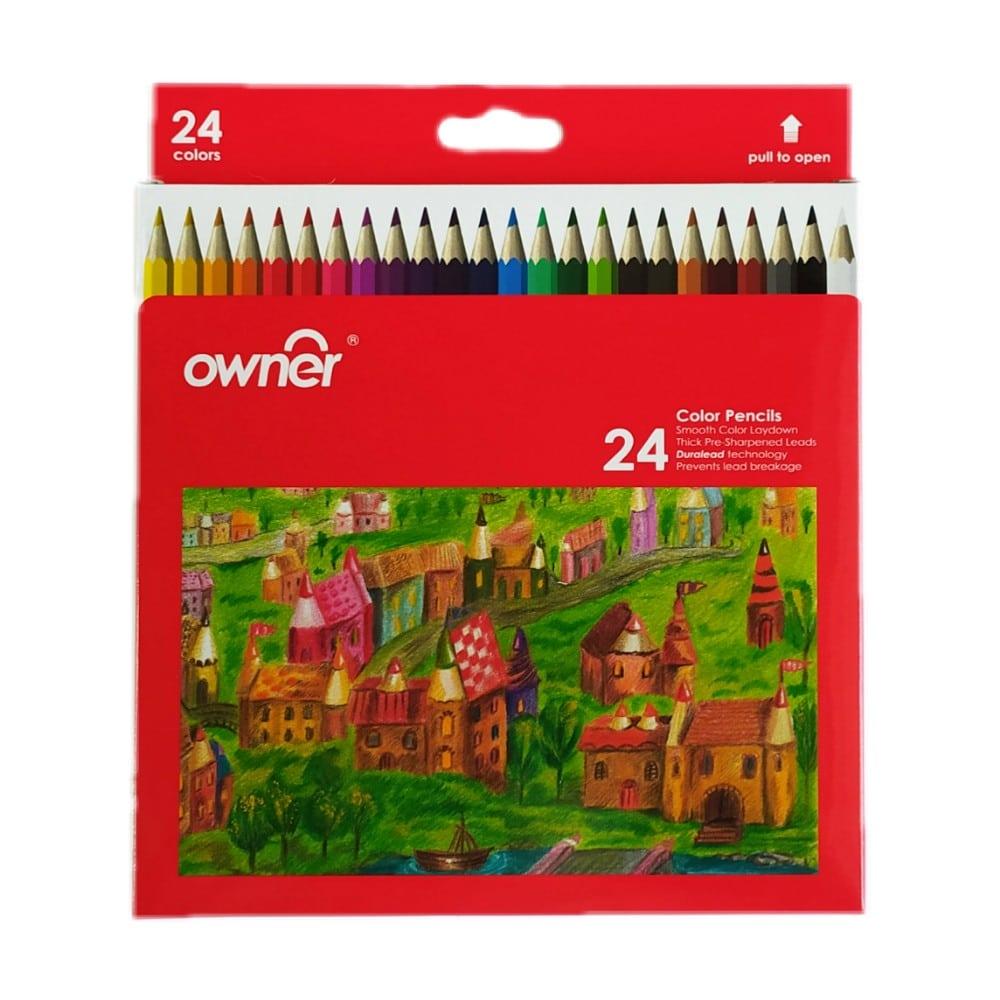 مداد رنگی اونر 24