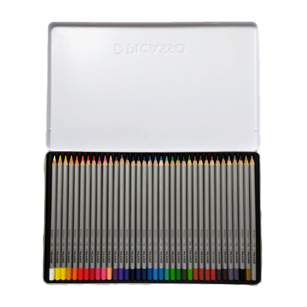 مداد رنگی 36 رنگ پیکاسو آرتیست داخل