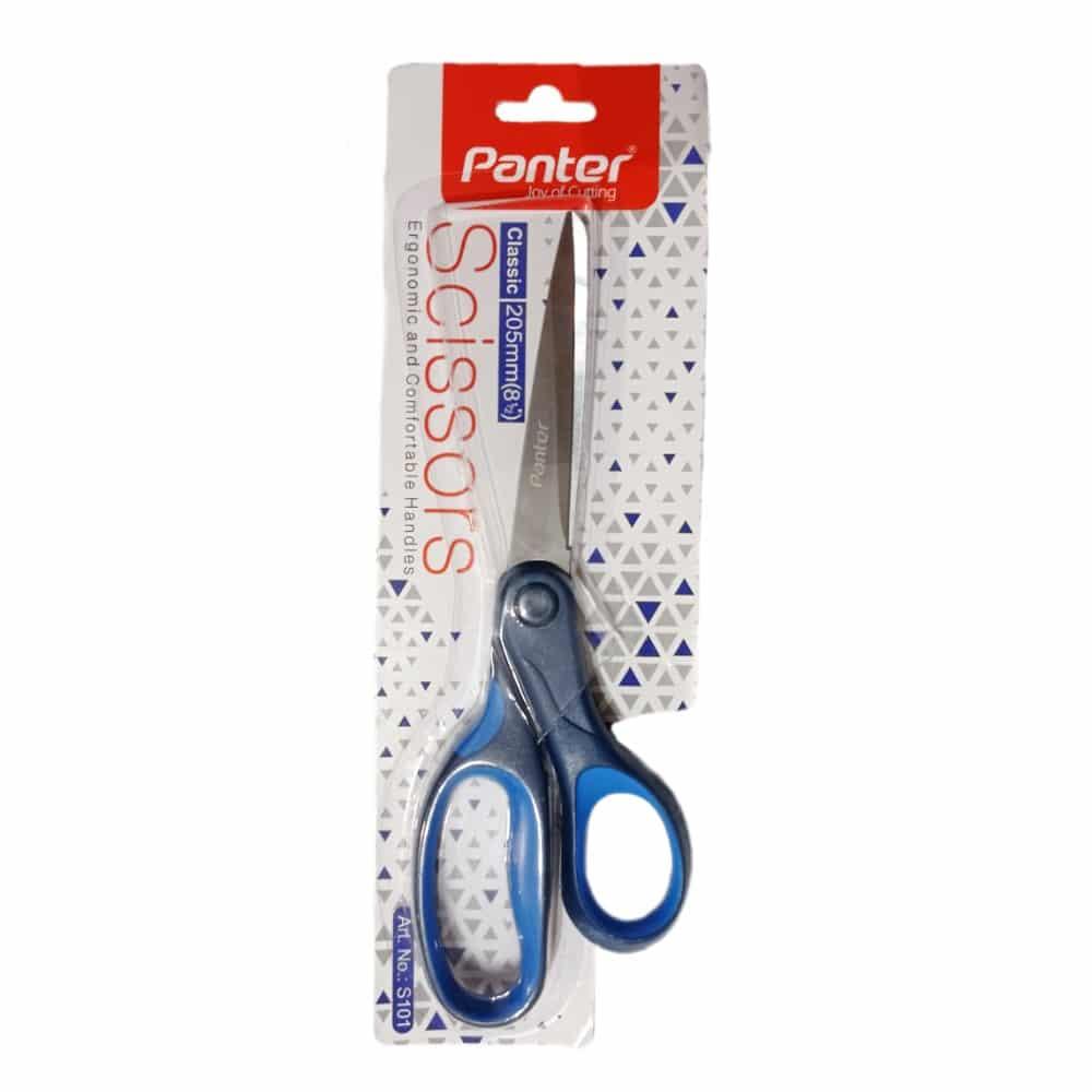 قیچی پنتر 8 اینچی آبی