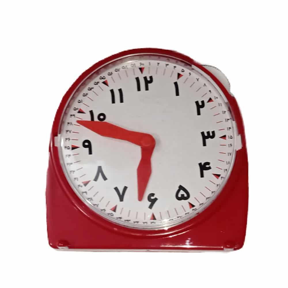 ساعت آموزشی قرمز