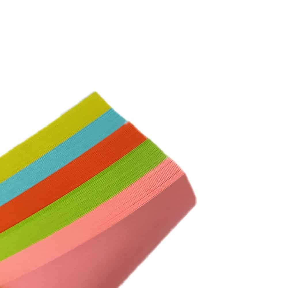 کاغذ یادداشت چسب دار سایز 75 در 75 میلی متر رنگ
