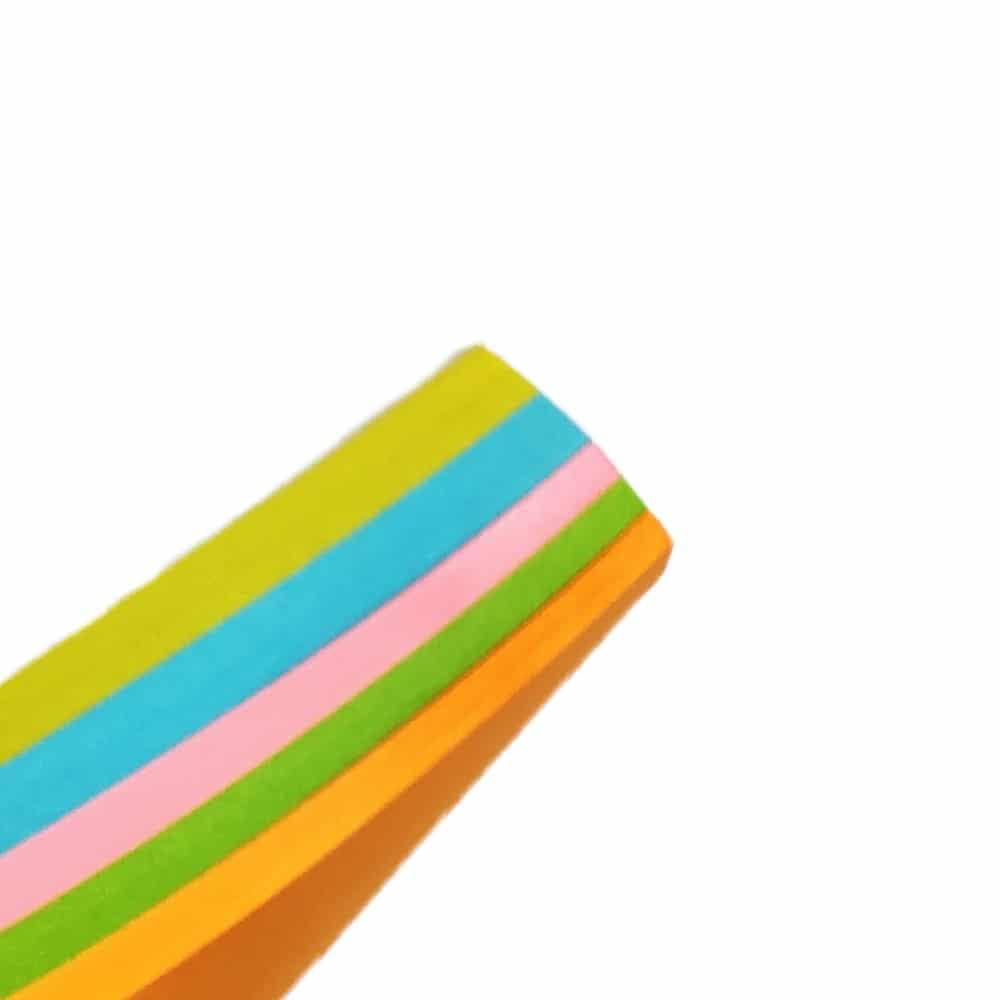 کاغذ یادداشت چسب دار سایز 75 در 125 میلی متر رنگ