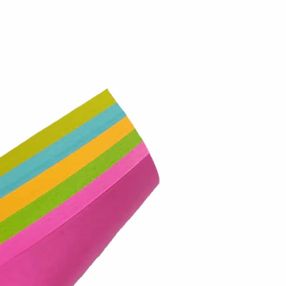 کاغذ یادداشت چسب دار سایز۷۵در100میلی متر رنگ