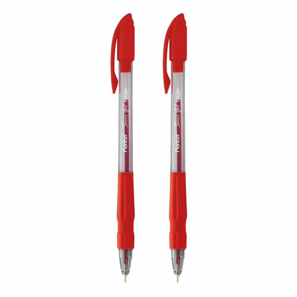 خودکار پنتر مدل Semi Gel قرمز