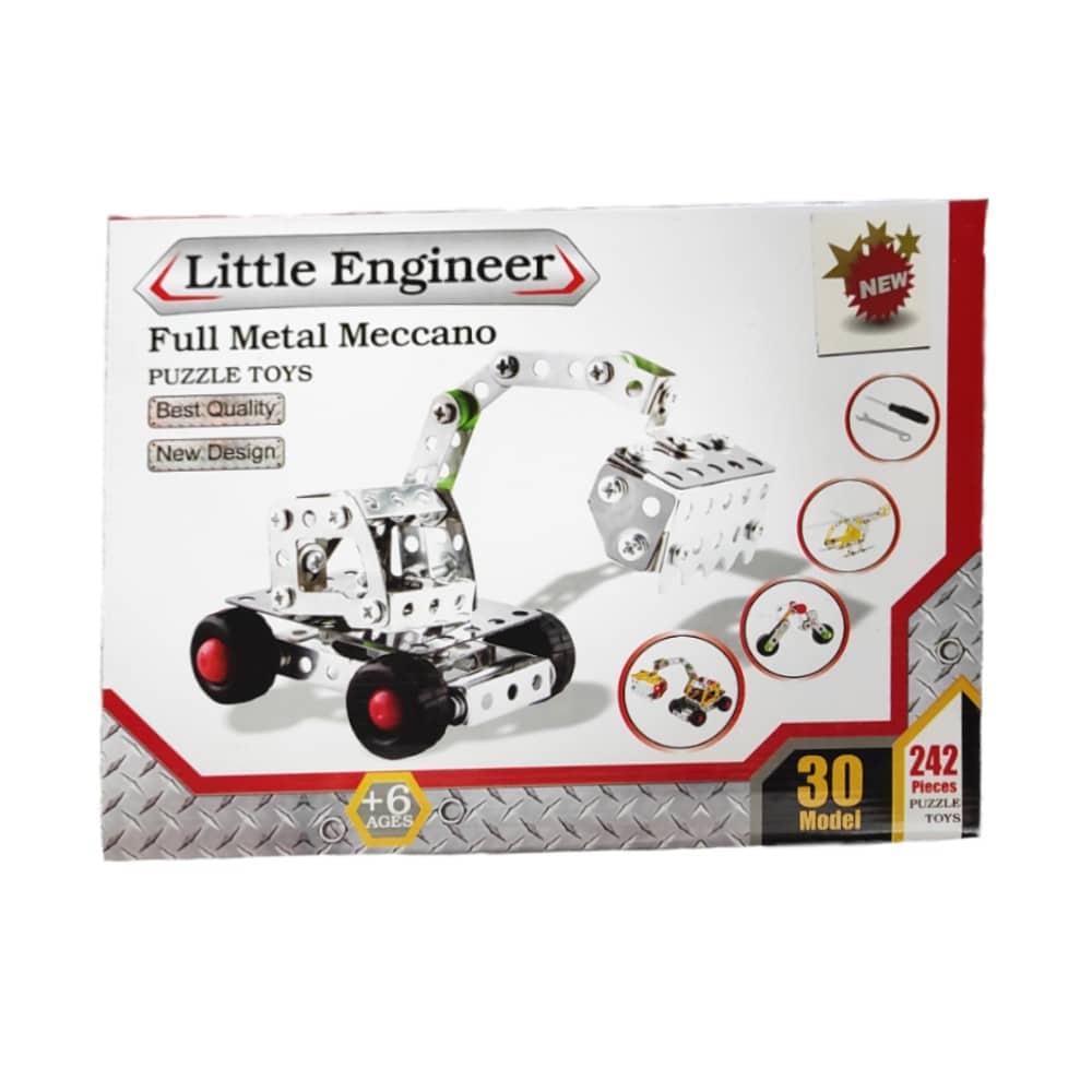 ساختنی فلزی 30 مدل LITTLE ENGINEER
