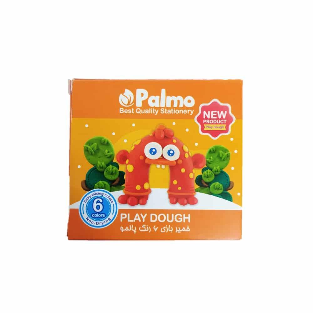 خمیر بازی 6 رنگ پالمو