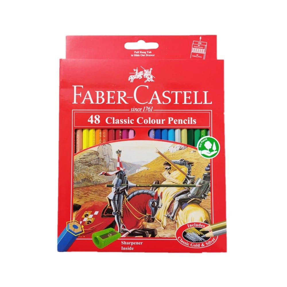 مداد رنگی 48 رنگ فابر کاستل